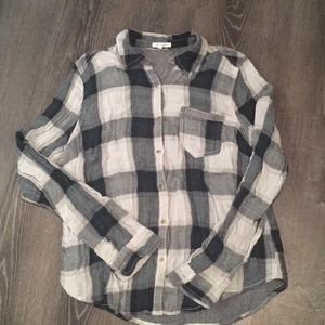 Maurices Plaid Top